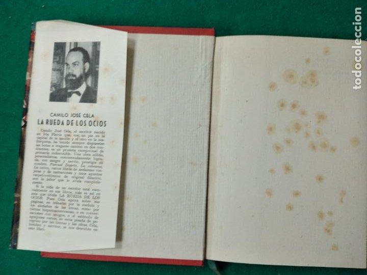 Libros de segunda mano: CAMILO JOSE CELA. LA RUEDA DE LOS OCIOS. EDITORIAL MATEU 1ª EDICION 1957. - Foto 2 - 262707560