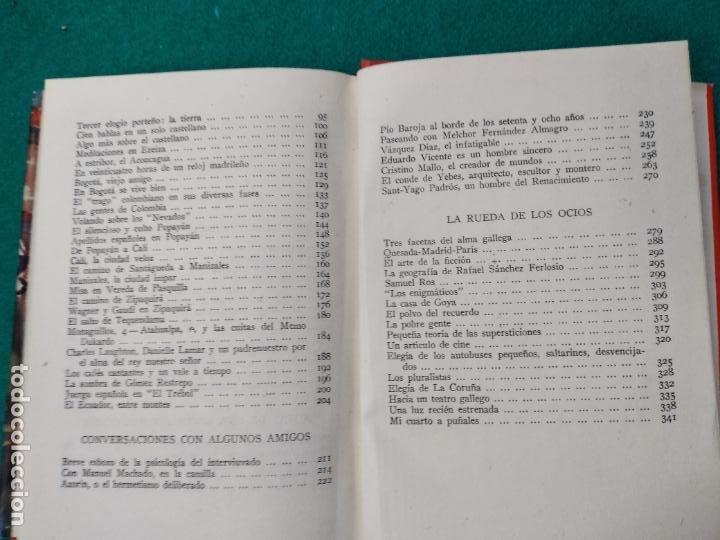 Libros de segunda mano: CAMILO JOSE CELA. LA RUEDA DE LOS OCIOS. EDITORIAL MATEU 1ª EDICION 1957. - Foto 5 - 262707560