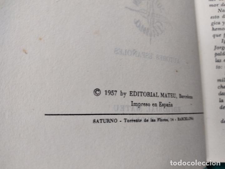 Libros de segunda mano: CAMILO JOSE CELA. LA RUEDA DE LOS OCIOS. EDITORIAL MATEU 1ª EDICION 1957. - Foto 6 - 262707560