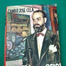 Libros de segunda mano: CAMILO JOSE CELA. LA RUEDA DE LOS OCIOS. EDITORIAL MATEU 1ª EDICION 1957.. Lote 262707560