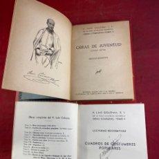 Libros de segunda mano: OBRAS COMPLETAS DE LUIS COLOMA TOMOS 1 Y 2. Lote 262708795