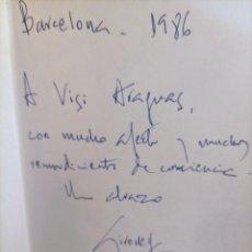 Libros de segunda mano: GIRONELLA - DEDICATORIA AUTOGRAFO - LOS HOMBRES LLORAN SOLOS - PRIMERA EDICION -1986. Lote 262753410