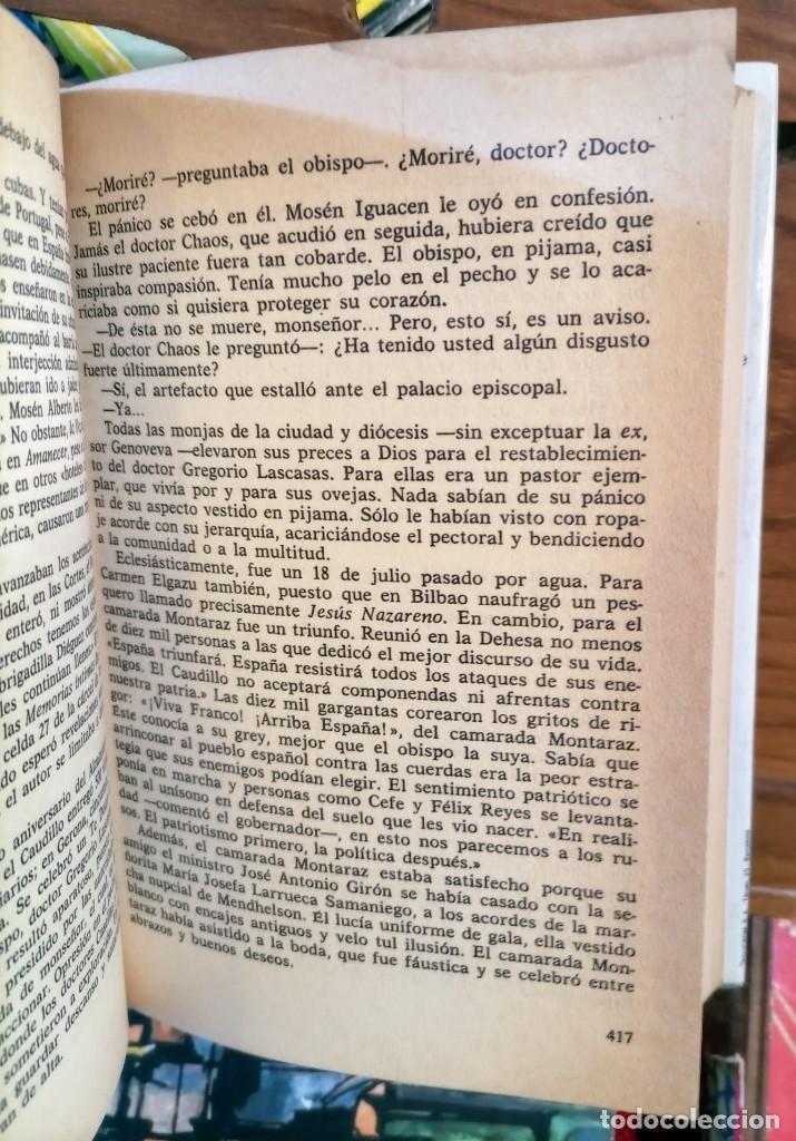 Libros de segunda mano: GIRONELLA - DEDICATORIA AUTOGRAFO - LOS HOMBRES LLORAN SOLOS - PRIMERA EDICION -1986 - Foto 3 - 262753410