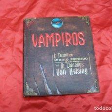 Libros de segunda mano: VAMPIROS LIBRO COMPLETO CON TODOS LOS SUVENIRS MIRAR FOTOS!. Lote 262905135