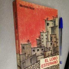 Libros de segunda mano: EL LOBO ESTEPARIO / HERMANN HESSE / EDITORES MEXICANOS REUNIDOS 1ª EDICIÓN 1976. Lote 262936485