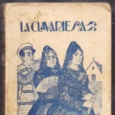 Libros de segunda mano: LA CLAVARIESA. COLECCIÓN NUEVA ESPAÑA - PEREZ Y PEREZ, RAFAEL - A-NOVRAPE-565. Lote 262956480