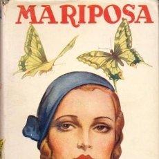 Libros de segunda mano: MARIPOSA - PEREZ Y PEREZ, RAFAEL - A-NOVRAPE-568. Lote 262956685
