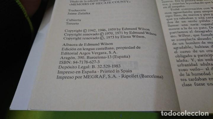 Libros de segunda mano: ESTAMPAS DE WILBUR FLICK, EDMUND WILSON - Foto 4 - 263042450