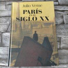 Libros de segunda mano: JULIO VERNE PARIS EN EL SIGLO XX. Lote 263043140