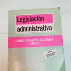 Libros de segunda mano: LEGISLACIÓN ADMINISTRATIVA. EDICIÓN ACTUALIZADA 2013 SA4205. Lote 263043200