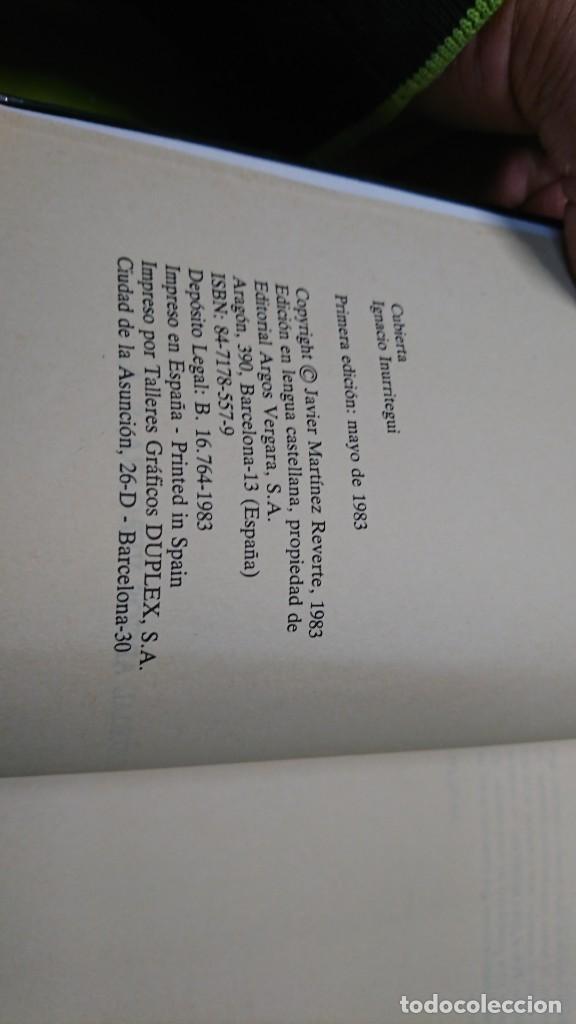 Libros de segunda mano: SINFONÍA BARBARA, JAVIER MARTÍNEZ REVERTE - Foto 4 - 263044085