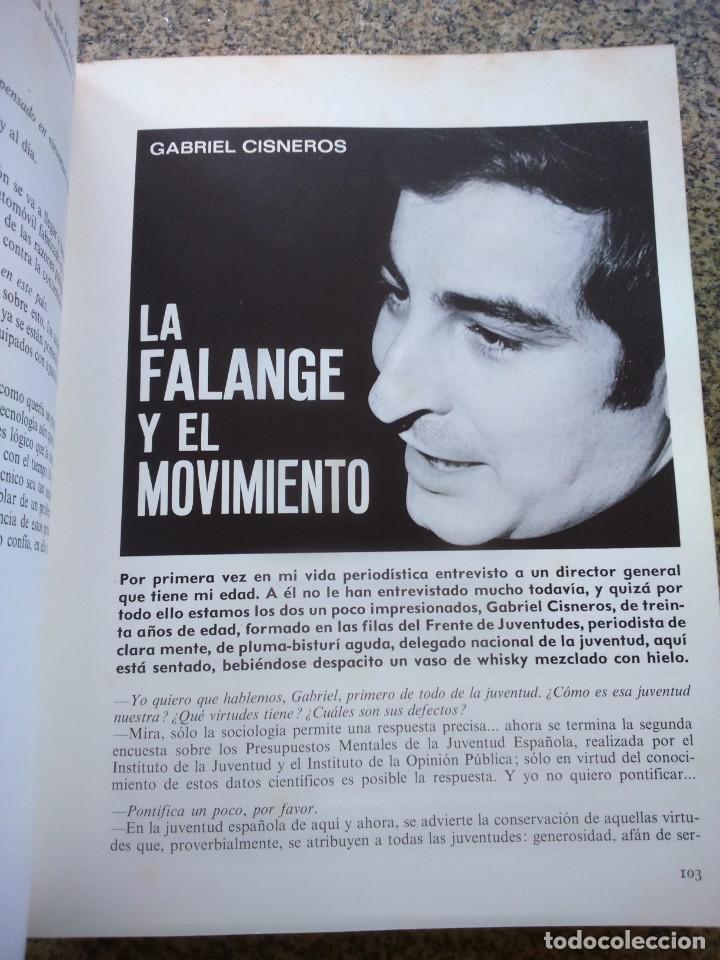 Libros de segunda mano: HABLANDO DE ESPAÑA EN VOZ ALTA -- MIGUEL VEYRAT -- 1971 -- - Foto 3 - 263044710
