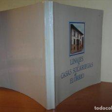 Libros de segunda mano: LINAJES Y CASA SOLARIEGAS DE ELORRIO / JAIME DE KEREXETE NARRATIVA. Lote 263074735