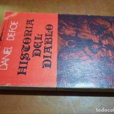 Libros de segunda mano: HISTORIA DEL DIABLO. DANIEL DAFOE. HIPERIÓN. RÚSTICA. BUEN ESTADO. Lote 263187320