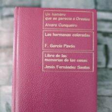 Libros de segunda mano: COLECCION PREMIO NADAL EDICIONES DESTINO ALVARO CUNQUEIRO F GARCIA PAVON JESUS FERNANZ SANTOS 9. Lote 263261725