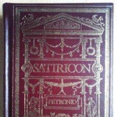 Libros de segunda mano: SATIRICON (PETRONIO) CLUB INTERNACIONAL DEL LIBRO 1984. Lote 263810800
