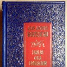 Libros de segunda mano: EMILIO O LA EDUCACIÓN II (JEAN JACQUES ROUSSEAU) CLUB INTERNACIONAL DEL LIBRO 1986. Lote 263810850