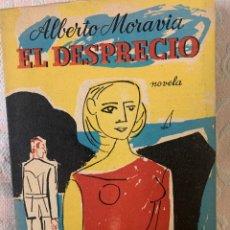 Libros de segunda mano: EL DESPRECIO, ALBERTO MORAVIA. Lote 264030125