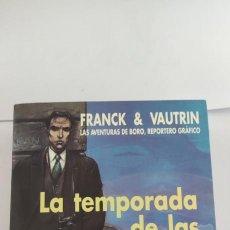 Libros de segunda mano: LA TEMPORADA DE LAS CEREZAS. FRANCK & VAUTRIN. Lote 264541029