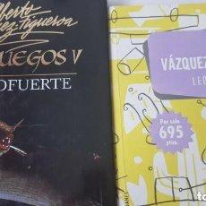 Libros de segunda mano: CIENFUEGOS V / LEÓN BOCANEGRA. ALBERTO VÁZQUEZ. FIGUEROA.. Lote 264545089