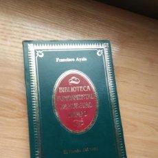 Libros de segunda mano: EL FONDO DEL VASO, DE FRANCISCO AYALA. ALIANZA EDITORIAL BIBLIOTECA FUNDAMENTAL DE NUESTRO TIEMPO. Lote 265033799