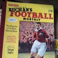 Libros de segunda mano: CHARLES BUCHAN - FOOTBALL MONTHLY - RETAPADO DE REVISTAS MENSUALES DE FUTBOL. Lote 265102699