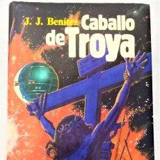 Libros de segunda mano: CABALLO DE TROYA J.J. BENITEZ 1º EDICION 1984 OCTUBRE OVNI MISTERIO JESUS NAVE. Lote 266210798