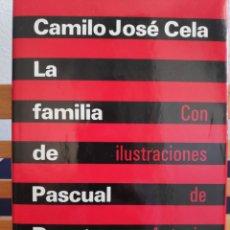 Libros de segunda mano: LA FAMILIA DE PASCUAL DUARTE, PARA CONMEMORAR EL 70 CUMPLEAÑOS CAMILO J CELA, DIBUJOS ANTONIO SAURA. Lote 266425118