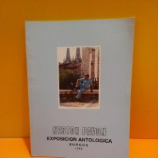 Libros de segunda mano: NESTOR PAVON...EXPOSICION ANTOLOGICA...BURGOS..1986..... Lote 266560298