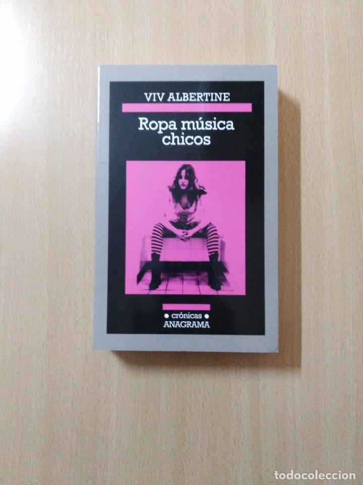 ROPA MÚSICA CHICOS. VIVO ALBERTINE (Libros de Segunda Mano (posteriores a 1936) - Literatura - Narrativa - Otros)