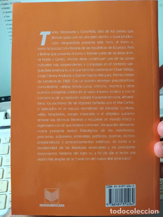 Libros de segunda mano: Vanguardía Latínoamericana. Historia, crítica y documentos. Müller Bergh, Klaus, Vervuert (2004) - Foto 2 - 267357954
