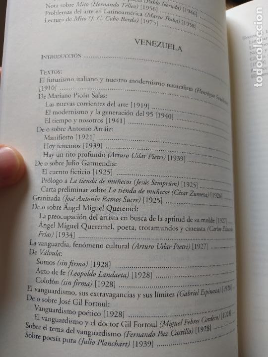 Libros de segunda mano: Vanguardía Latínoamericana. Historia, crítica y documentos. Müller Bergh, Klaus, Vervuert (2004) - Foto 7 - 267357954
