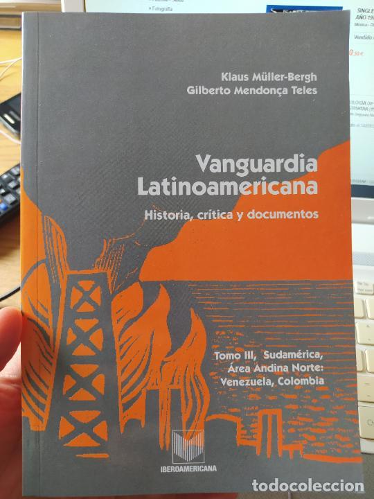 VANGUARDÍA LATÍNOAMERICANA. HISTORIA, CRÍTICA Y DOCUMENTOS. MÜLLER BERGH, KLAUS, VERVUERT (2004) (Libros de Segunda Mano (posteriores a 1936) - Literatura - Narrativa - Otros)