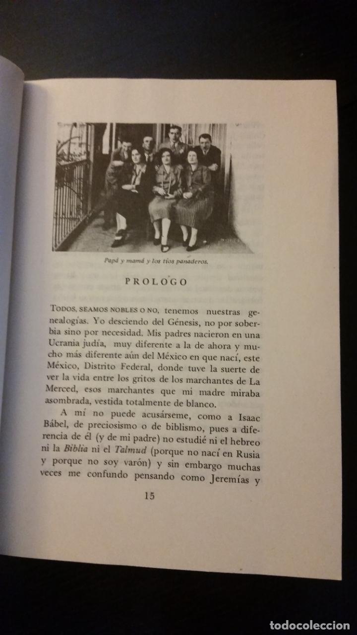 Libros de segunda mano: 1981 - MARGO GLANTZ - LAS GENEALOGÍAS - PRIMERA EDICIÓN - Foto 4 - 267509554