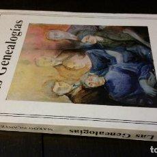Libros de segunda mano: 1981 - MARGO GLANTZ - LAS GENEALOGÍAS - PRIMERA EDICIÓN. Lote 267509554