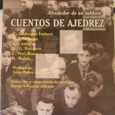 Libros de segunda mano: ALREDEDOR DE UN TABLERO. CUENTOS DE AJEDREZ. -. Lote 267758539