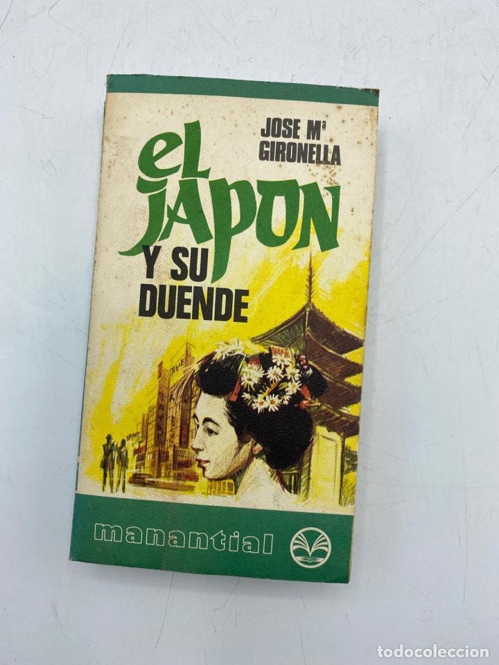 EL JAPÓN Y SU DUENDE. JOSE Mª GIRONELLA. ED. PLAZA & JANES. BARCELONA, 1975. PAGS: 309 (Libros de Segunda Mano (posteriores a 1936) - Literatura - Narrativa - Otros)