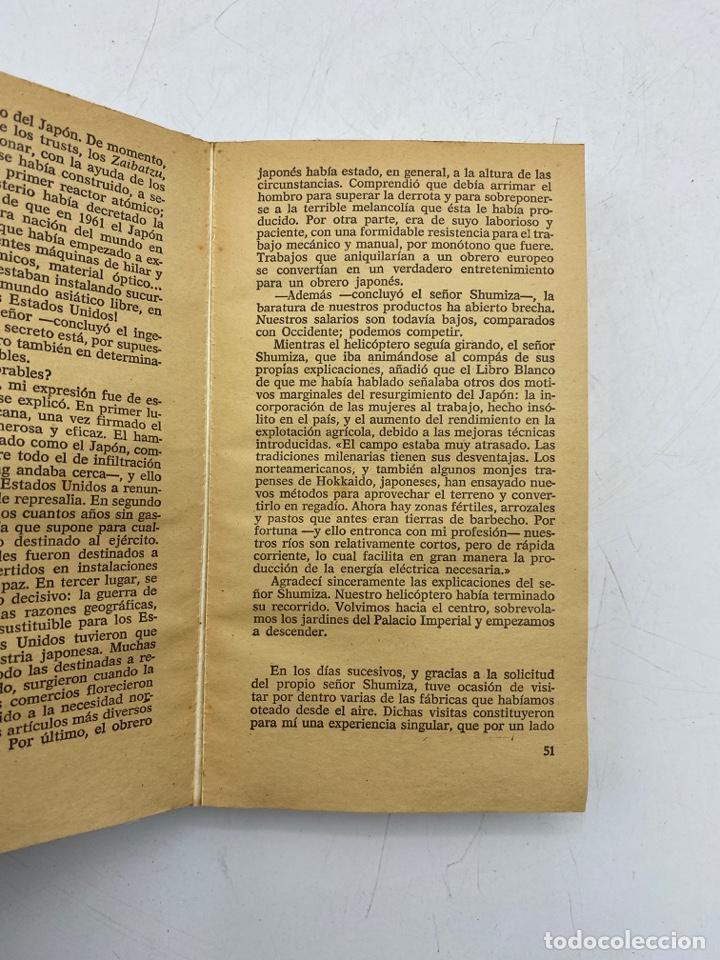 Libros de segunda mano: EL JAPÓN Y SU DUENDE. JOSE Mª GIRONELLA. ED. PLAZA & JANES. BARCELONA, 1975. PAGS: 309 - Foto 3 - 268572104