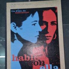 Libros de segunda mano: HABLE CON ELLA./ EL GUIÓN/ PEDRO ALMODOVAR. Lote 268573349
