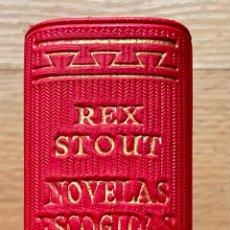 Libros de segunda mano: REX STOUT, NOVELAS ESCOGIDAS II, AGUILAR. Lote 268577214