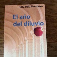Libros de segunda mano: EL AÑO DEL DILUVIO (EDUARDO MENDOZA) (BOOK). Lote 268789234