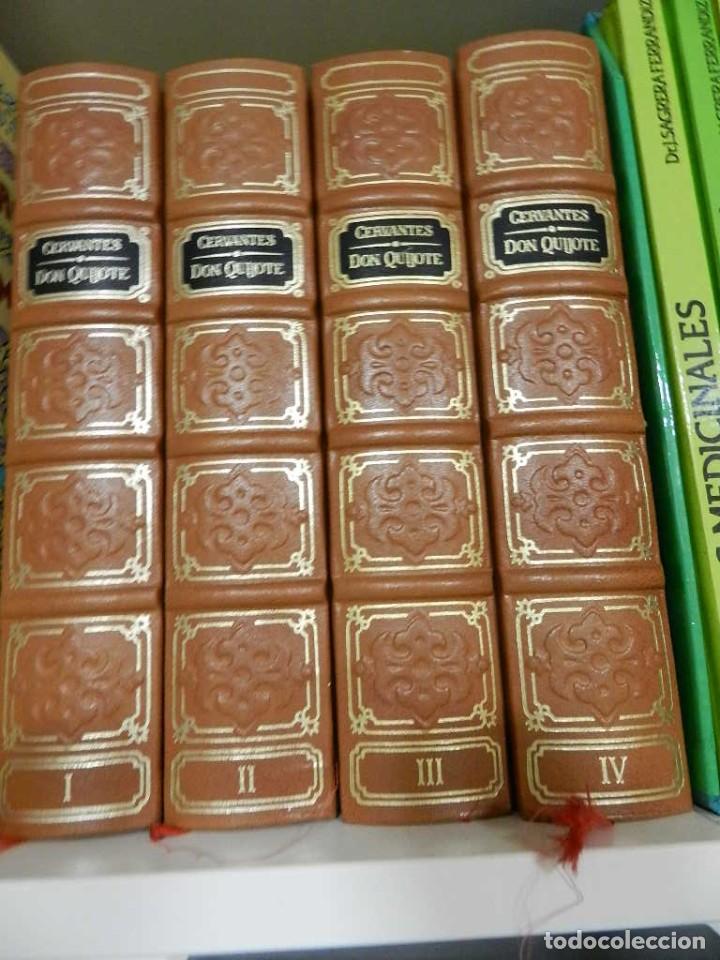 DON QUIJOTE, 4 VOLÚMENES 1982, CON TODOS LOS GRABADOS DE GUSTAVO DORÉ ED AGUILAR 1982 BUEN ESTADO (Libros de Segunda Mano (posteriores a 1936) - Literatura - Narrativa - Otros)