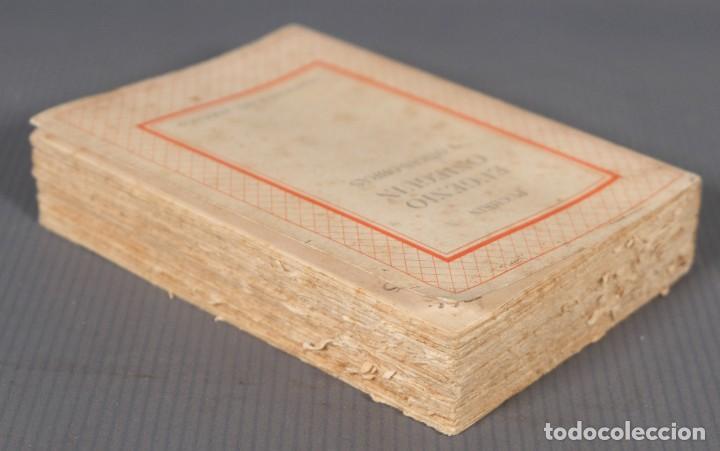 Libros de segunda mano: Eugenio Onieguin y otras obras - Puchkin -Ediciones del zodiaco 1942 - tomo segundo - Foto 4 - 268844954