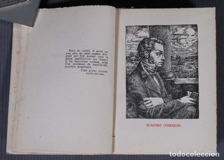 Libros de segunda mano: Eugenio Onieguin y otras obras - Puchkin -Ediciones del zodiaco 1942 - tomo segundo - Foto 6 - 268844954