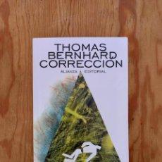 Libros de segunda mano: THOMAS BERNHARD - CORRECCIÓN. Lote 268917214