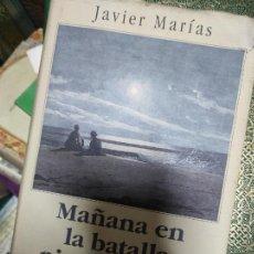 Libros de segunda mano: MAÑANA EN LA BATALLA PIENSA EN MI DE : JAVIER MARÍAS. Lote 268922899