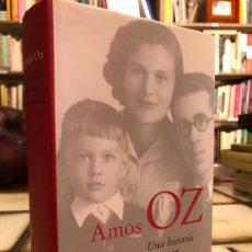 Libros de segunda mano: UNA HISTORIA DE AMOR Y OSCURIDAD. AMOS OZ. TAPA DURA. Lote 268975894