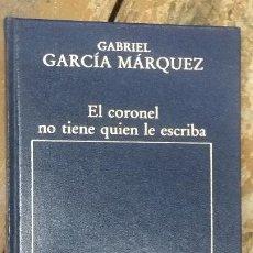 Libros de segunda mano: EL CORONEL NO TIENE QUIEN LE ESCRIBA. GABRIEL GARCÍA MÁRQUEZ. Lote 268983964