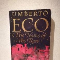 Libros de segunda mano: LIBRO - EL NOMBRE DE LA ROSA - OTROS IDIOMAS - UMBERTO ECO. Lote 269015509