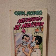 Libros de segunda mano: LIBRO - MELOCOTÓN DE MANZANA - VARIOS - QUIM MONZÓ. Lote 269015554